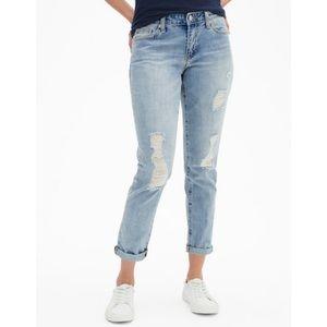 Gap Factory Sexy Boyfriend Distressed Jeans